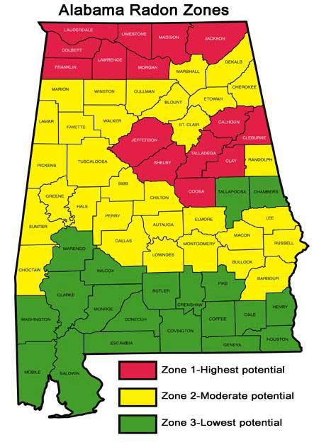 map potential hazzardous counties